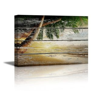 Tropical Wooden Picture