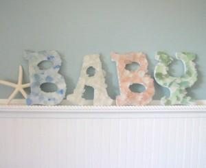 Sea Glass Letters
