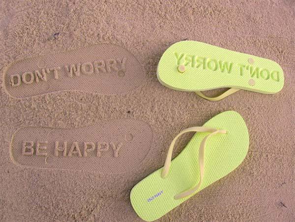Don't worry flip flops