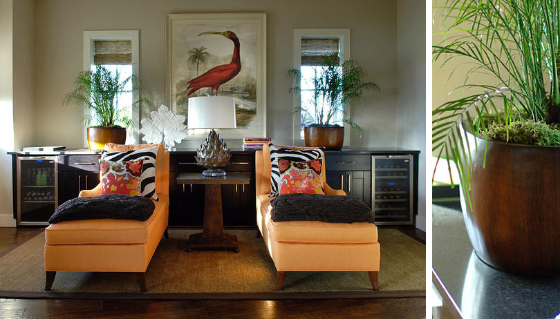 Tropical style rooms