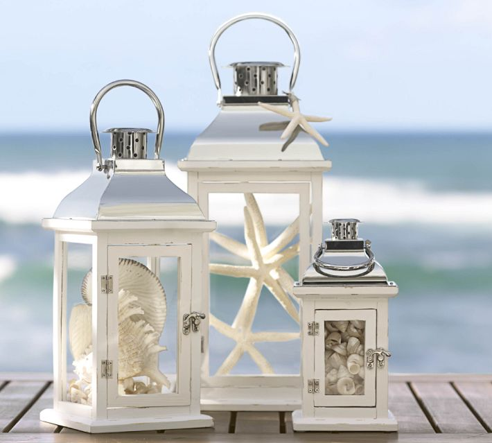 Beautiful Lanterns with Starfish