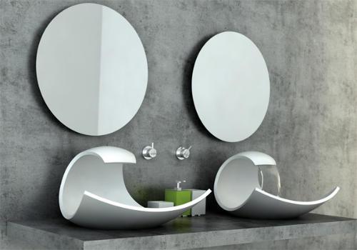 Modern Wave Sink