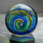 Spiral Glass Float