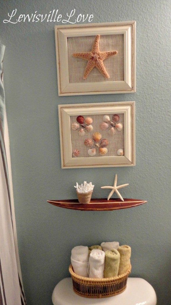 Beach Bathroom Decor