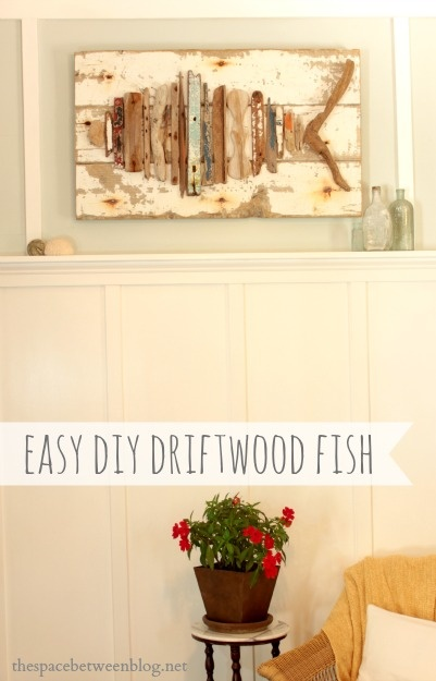 Driftwood Fish DIY