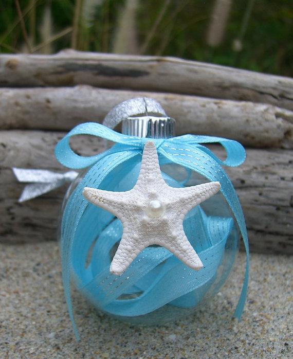 Christmas Starfish Ornament