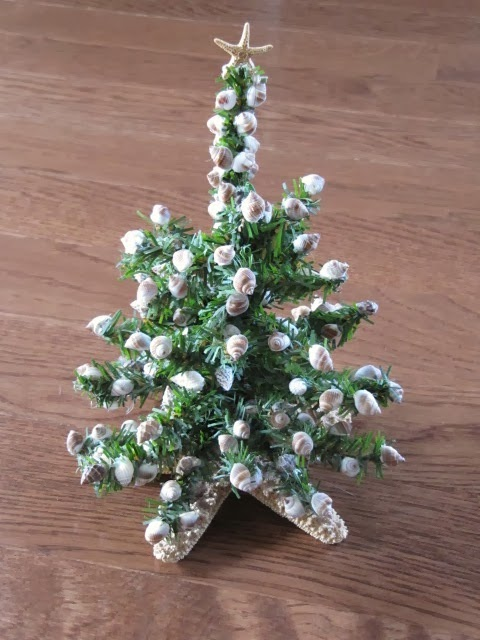 Seashell Christmas Tree1