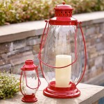 Red Lantern Beach Decor