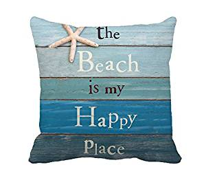 Beach Theme Pillow
